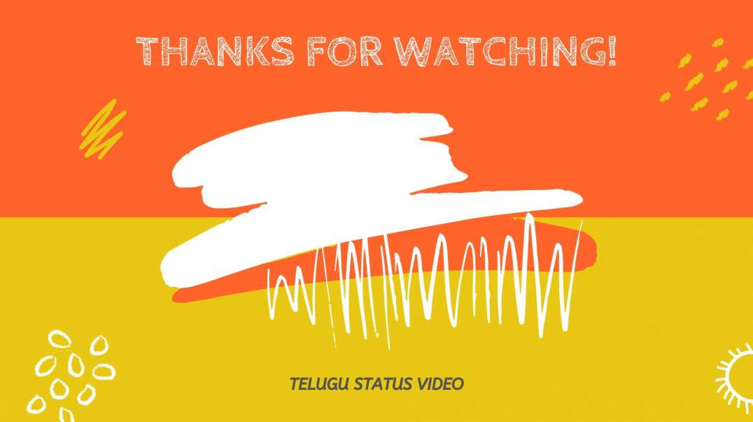 Super Hit Telugu Status Song | Telugu Status Song Download