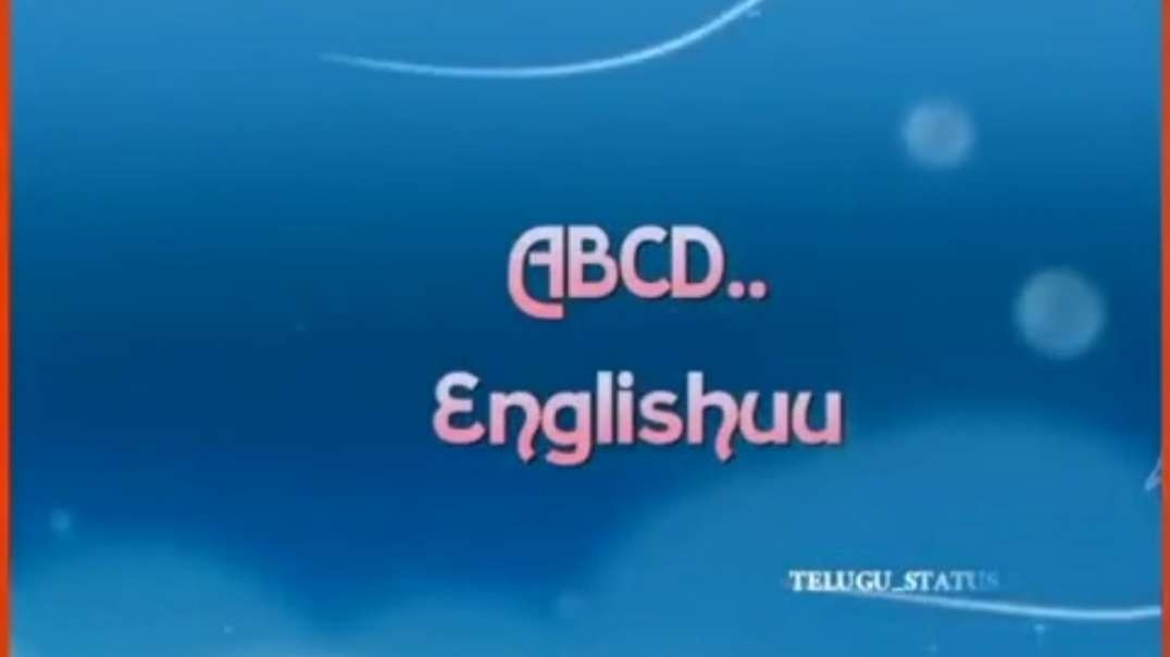 ABCD Englishu | Telugu Status song download | WhatsApp Telugu Status | Telugu status video
