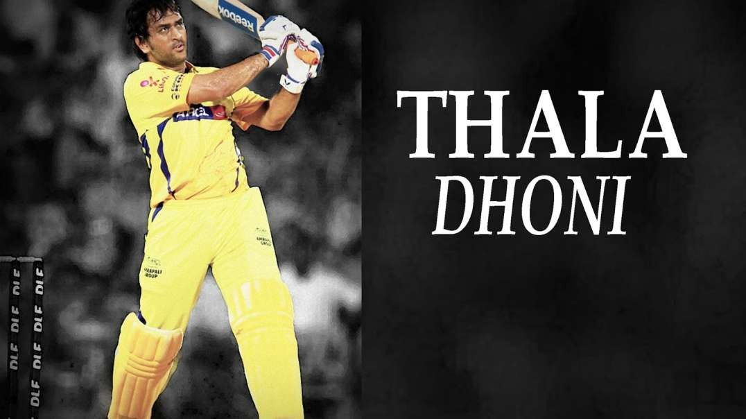 Thala Dhoni Birthday WhatsApp Status - Birthday mashup - Cricket player dhoni Tamil status