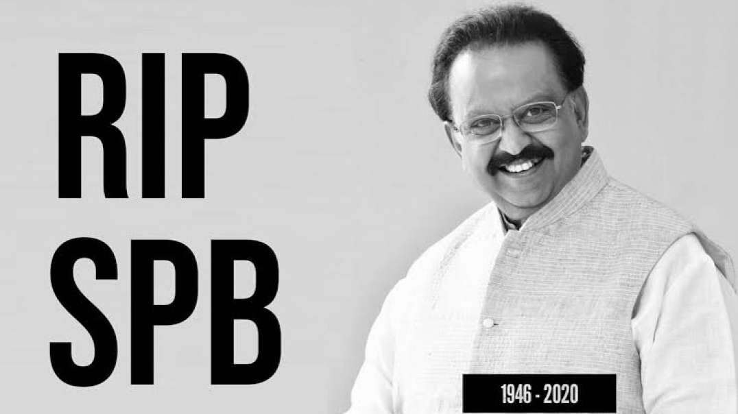 Rest In Peace SPB sir | Tribute to the legend of Tamil Music | Will miss you | Tamil Status