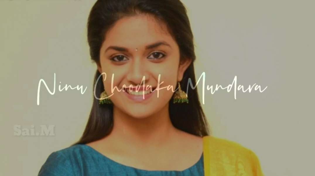 Keerthy Suresh lovely Whatsapp Status Video | Telugu whatsapp status videos | Telugu movie songs