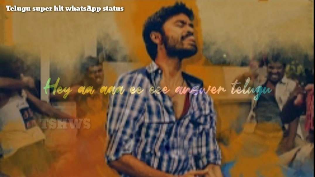 Boys Frustration | Sad love song | Telugu WhatsApp status videos | Telugu Movie Songs